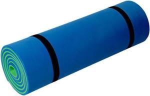 Karimata dwuwarstwowa 180x50x1cm Meteor (niebiesko-zielona) / GWARANCJA 12 MSC. - 2822242058