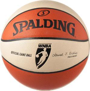 Piłka do koszykówki WNBA OFF 6 Panel Gameball Spalding / GWARANCJA 12 MSC. / Tanie RATY / DOSTAWA GRATIS !!! - 2822242221