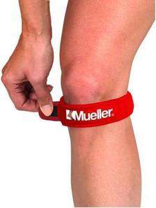 Opaska podrzepkowa na kolano Mueller (czerwona) - 2822242637