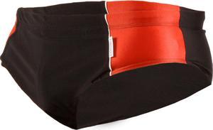 Kąpielówki męskie wstawki SK0016 Stanteks (czarno-czerwone) / GWARANCJA 12 MSC. - 2822242679