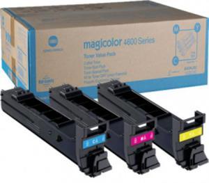Oryginalne Tonery A0DKJ52 Konica-Minolta 4650 do 4690 4695 CMY po 8k Toner CMY A0DKJ52 - 2836898231