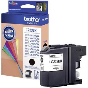 Oryginalny BROTHER LC223BK BLACK tusz do drukarki MFC-J4620DW lub 4625DW, 5320DW end 5625DW oem LC-223BK Czarny tusz do drukarki Brother MFC-J 4620 DW - 2823907991