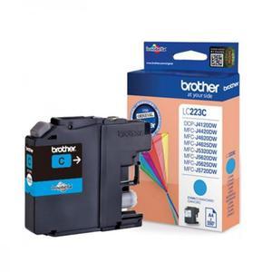 Oryginalny BROTHER LC223C CYAN tusz do drukarki MFC-J4620DW lub 4625DW, 5320DW end 5625DW oem LC-223C Tusz błękitny do drukarki Brother MFC-J 4620 DW - 2823907992