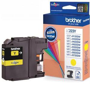 Oryginalny BROTHER LC223Y YELLOW tusz do drukarki MFC-J4620DW lub 4625DW, 5320DW end 5625DW oem LC-223Y Tusz żółty do drukarki Brother MFC-J 4620 DW - 2823907994