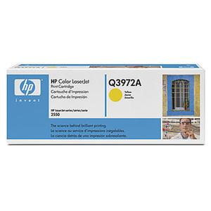 Oryginalny Toner HP Q3972A YELLOW toner do drukarki HP2550/2820aio/2840 toner 123A - 2823907320