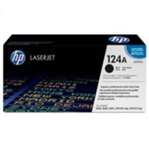 Oryginalny Toner HP Q6000A BLACK toner do drukarki 1600/2600/2605 toner HP 124A - 2823907356