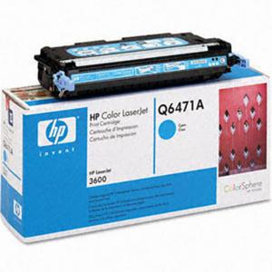 Oryginał Toner HP Q6471A CYAN toner HP 502A toner do drukarki HP 3600 - 2823907366