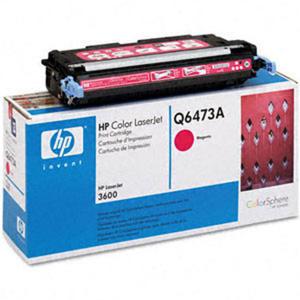 Oryginał Toner HP Q6473A MAGENTA toner HP 502A toner do drukarki HP 3600 - 2823907368
