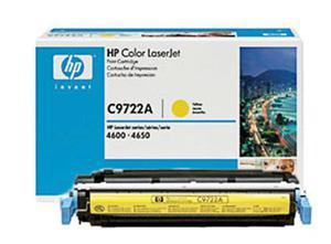 Oryginał Toner HP C9722A YELLOW toner do drukarki HP 4600/4650 toner HP 641A toner hp641 - 2823907444