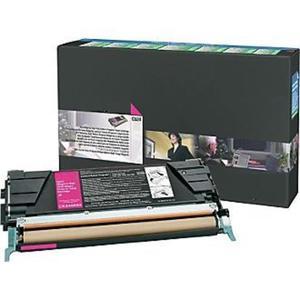 Zamiennik Toner Lexmark C524 MAGENTA czerwony toner do drukarki C524 oem C5240MH - 2823907560