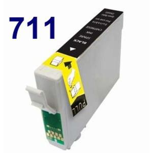 Zamiennik EPSON T711 BK BLACK czarny SX 100 epson D78 Tusz do drukarki Epson sx100 - 2823907076