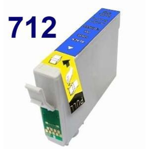 Zamiennik EPSON T712 CYAN niebieski SX 100 epson D78 Tusz do drukarki epson d78 - 2823907077