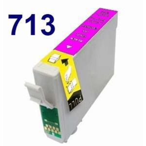 Zamiennik EPSON T713 MAGENTA czerwony SX 100 epson D78 Tusz do drukarki Epson dx4000 - 2823907078