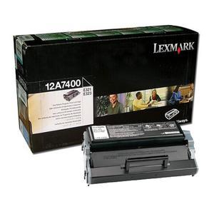 Oryginalny Toner Lexmark Optra E-321/323 do drukarki Optra E321/E323/E323N toner 12A7400 toner 3k
