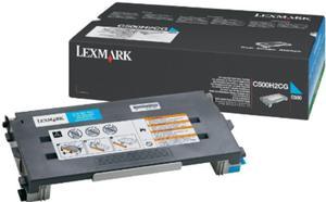 Oryginalny Toner Lexmark C500 CYAN niebieski toner do drukarki C500n/X500n/X502/X502n oem C500H2CG - 2823907743