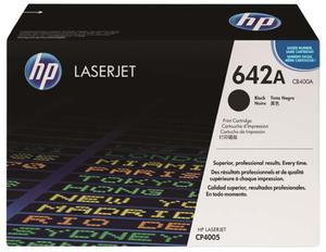Oryginalny Toner HP CB400A BLACK toner do drukarki CP4005 toner HP 642A - 2823907753
