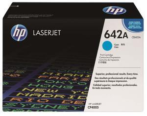 Oryginalny Toner HP CB401A CYAN toner do drukarki CP4005 toner HP 642A - 2823907754