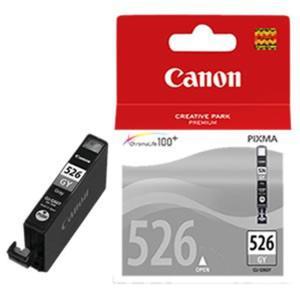 ORYGINAŁ Canon CLI-526GY wklad GREY do drukarki IP4850/MG5150/MG5250/MG6150/MG8150 oem 4544B001 cli526g - 2823907782