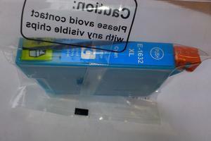Zamiennik EPSON T1632 C 16XL CYAN tusz do drukarki WF-2010 kompatybilny z C13T16324010 wiekszy od T1622 Tusz do drukarki Epson wf2520 - 2823907803