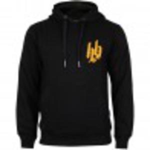 Hoodboyz Hood Sweat Pan Bluzy z kapturem czarny złoty - 2317080498