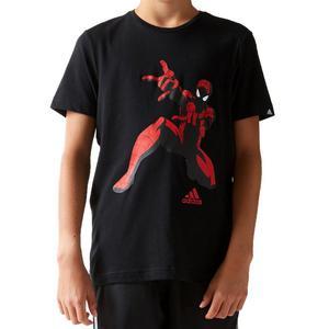 Koszulka Adidas Spiderman t-shirt dziecięcy męski sportowy - czarny - 2832466474