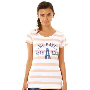 Koszulka Adidas NEO Team damska t-shirt bawełniany z napisami - 2835557158