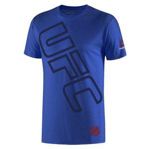 Koszulka Reebok UFC Fan SS Triblend t-shirt męski sportowy - 2837386016