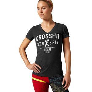 Koszulka Reebok CrossFit Graphic t-shirt damski treningowy - 2837386020