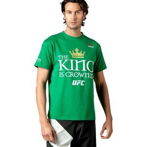 Koszulka Reebok UFC King Is Crowned Conor McGregor t-shirt męski sportowy - 2837386022