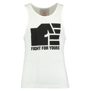 Koszulka Top Reebok UFC Fan Tank bezrękawnik męski sportowy - biały - 2837386028