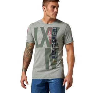 Koszulka Reebok CrossFit RCF Tri-Blend t-shirt męski treningowy - 2837974216