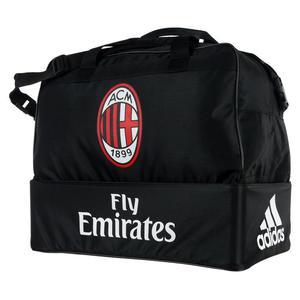b922939b5bd26 Torba sportowa Adidas AC Milan Football treningowa piłkarska z podwójnym  dnem - 2845952283