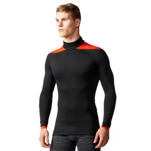 Koszulka Adidas TechFit ClimaHeat Mock 2.0 męska kompresyjna treningowa - 2846602700