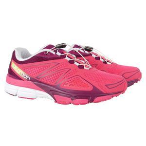 c815cb3c04d68 Buty Salomon X-Scream 3D CityTrail damskie sportowe do biegania - różowy -  2848148128