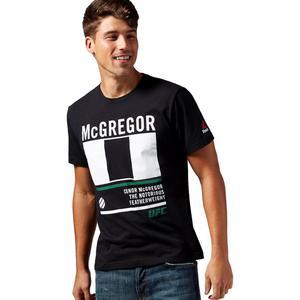 Koszulka Reebok McGregor Nickname t-shirt męski sportowy - 2855860585