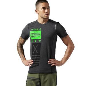 Koszulka Reebok Les Mills BodyCombat męska termoaktywna treningowa - 2856007515