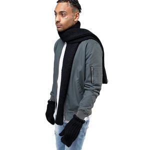 Szalik i rękawice Adidas Originals Scarf+Glove unisex komplet zimowy - 2858172467