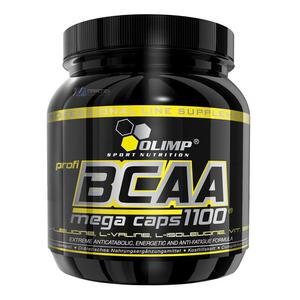 OLIMP BCAA 1100 mg Mega Caps 300-kapsułek aminokwasy - 2832465656