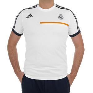 d1131ff972fdb Koszulka Adidas Real Madryt męska t-shirt sportowy piłkarski na w-f -  2832465994