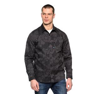 b30b9d3e695ae8 Koszula Adidas Originals Gonz Camo Woven męska - czarno-siwy - 2832466059