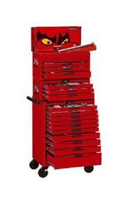 TENGTOOLS Wózek warsztatowy + zestaw narzędzi 1001 elementów TCMM1001N (12239-0107) - 2827631985