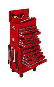 TENGTOOLS Zestaw 479 narzędzi dostarczanych w wózku narzedziowym oraz skrzynkach narzędziowych (9480-0208) - 2827633300