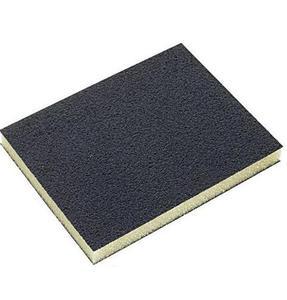 LUNA Gąbka ścierna 123x98x12 mm z pokryciem z węglika krzemu- SiC P60 (20359-0104) - 2827639077