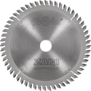 GLOBUS Piła HM 210x30x2,2x1,6/52z GA5 serii ZAG1 CHIPBOARD do zagłębiarek - 2827647810