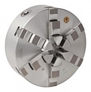 Uchwyt tokarski 6-szczękowy żeliwny typ 3804-400 BISON BIAL (DIN 6350) - 2827650406