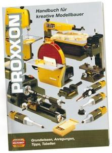 PROXXON Poradnik modelarski MINIMOT-niemieckojęzyczny (PRN28996) - 2827621062