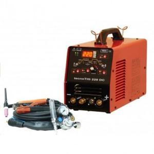 IDEAL Spawarka inwertorowa TECNOTIG 220 DC PULSE DIGITAL + zestaw TIG - 2837292787