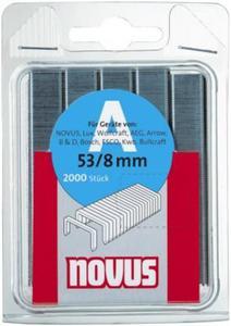 NOVUS Zszywki typ 53/10 x 1000 super-twarde - 2827621960