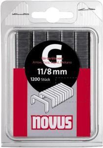 NOVUS Zszywki płaskie typ 11/10 x 600 - 2827621991