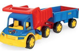 Wader Gigant Truck Wywrotka z Przyczepą - 65100 - 2847732487